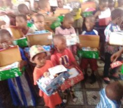 Beneficiaries of cry respond foundation food and clothing program 2